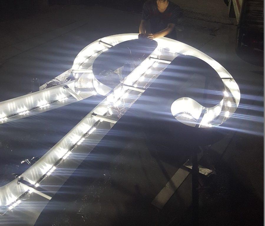 alüminyum tabela harfleri